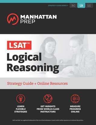LSAT Logical Reasoning: Strategy Guide + Online Tracker