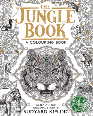 The Macmillan Jungle Book Colouring Book
