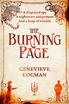 Book cover for The Burning Page (The Invisible Library, #3)