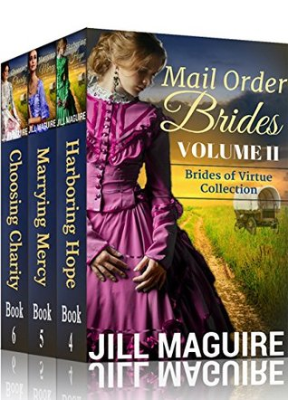 Mail Order Bride Historical Romance Collection #1-3 (Brides of Virtue 2)