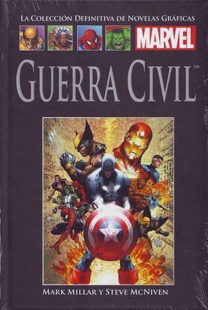 Guerra civil (Colección Definitiva de Novelas Gráficas Marvel, #39)