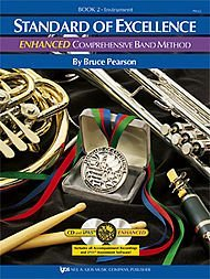 PW22BN - Standard of Excellence Book 2 Enhanced Book/CD - Bassoon