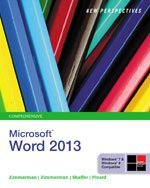 Bundle: New Perspectives on Microsoft® Word 2013, Comprehensive + SAM 2013 Assessment, Training, and Projects V1.0 Printed Access Card, 1st