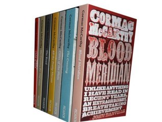 Cormac McCarthy collection 7 Books set. (Blood Meridian, The crossing, cities...