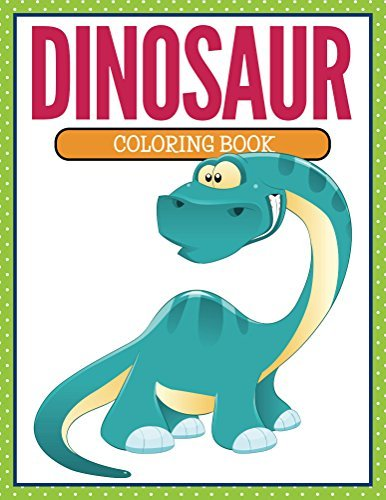 Dinosaur Coloring Book: Coloring Books for Kids (Art Book Series)