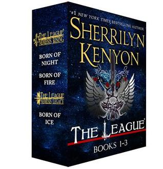 The League: Nemesis Rising, Books 1-3: Born of Night, Born of Fire, Born of Ice