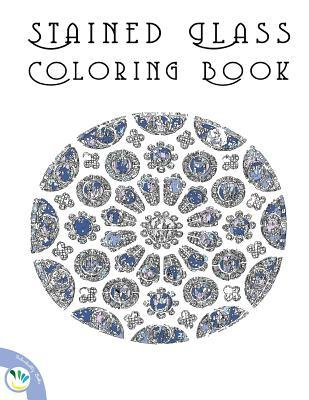 Stained Glass Coloring Book: Relaxing Coloring Pages for Adults and Kids