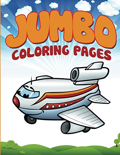 Jumbo Coloring Pages: Coloring Books for Kids (Art Book Series)