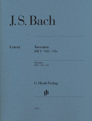 Toccatas BWV 910-916Piano