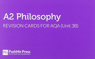 A2 Philosophy Revision Cards for AQA