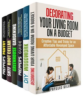 Best DIY Box Set (6 in 1): Creative DIY Ideas and Functional Projects for Your House, Garden and Prepping Needs (DIY Household Hacks)