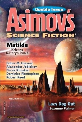 Asimovs Science Fiction, April/May 2016(Asimovs Science Fiction 483-484)