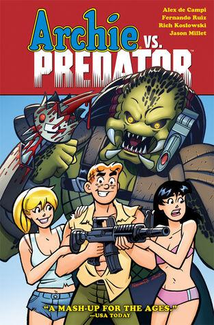 Archie vs predator by Alex De Campi