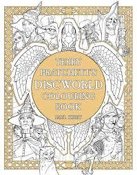 Official Discworld Colouring Book