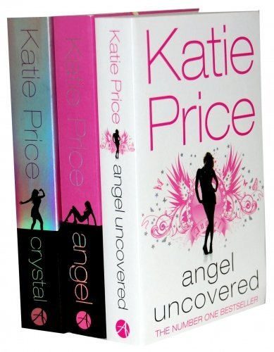 Katie Price 3 Books Collection Set (Jordan) RRP £20.97 (Katie Price Collection) (Angel, Angel Uncovered, Crystal)