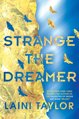 The cover of Strange the Dreamer by Laini Taylor