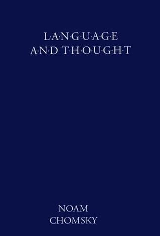 Language and Thought by Noam Chomsky