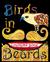 Birds in Beards Coloring Book