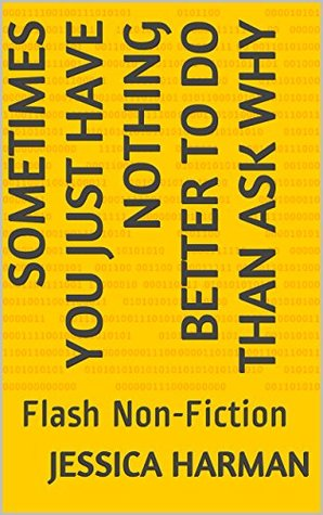 Sometimes You Just Have Nothing Better to Do than Ask Why: Flash Non-Fiction