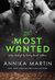 The Most Wanted by Annika Martin