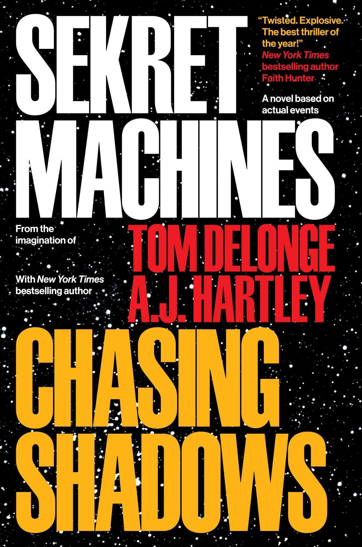 Chasing Shadows (Sekret Machines #1)