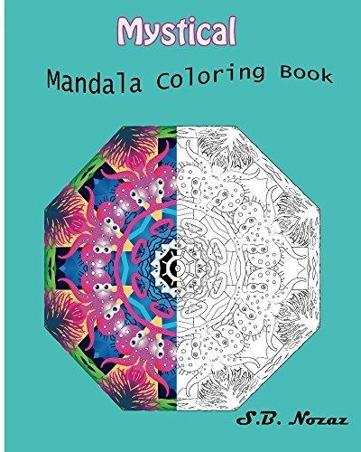 Mystical: Mandala Coloring Book