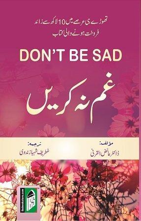 Sad dont book be