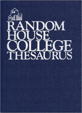 Random House College Thesaurus