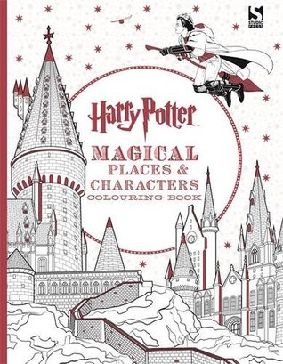 Harry Potter Colouring Book 3 Magical Places Characters By Scholastic Inc