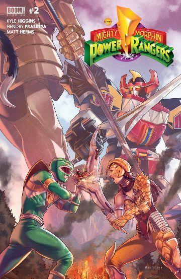 Mighty Morphin Power Rangers #2