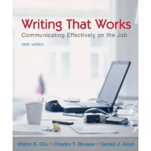 Writing That Works : Communicating Effectively on the Job 9TH EDITION