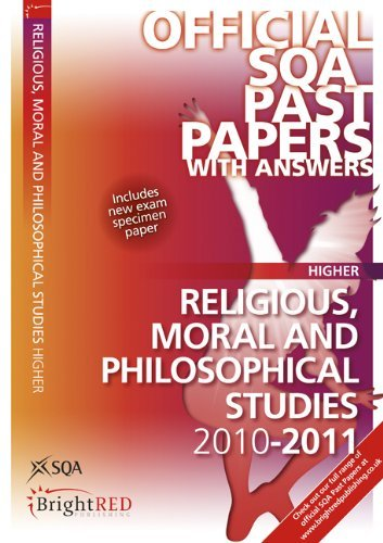 Religious, Moral and Philosophical Studies Higher 2011 SQA Past Papers