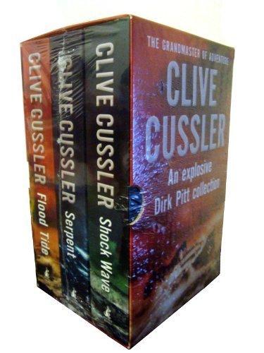 Clive Cussler 3-Books Collection Box Set