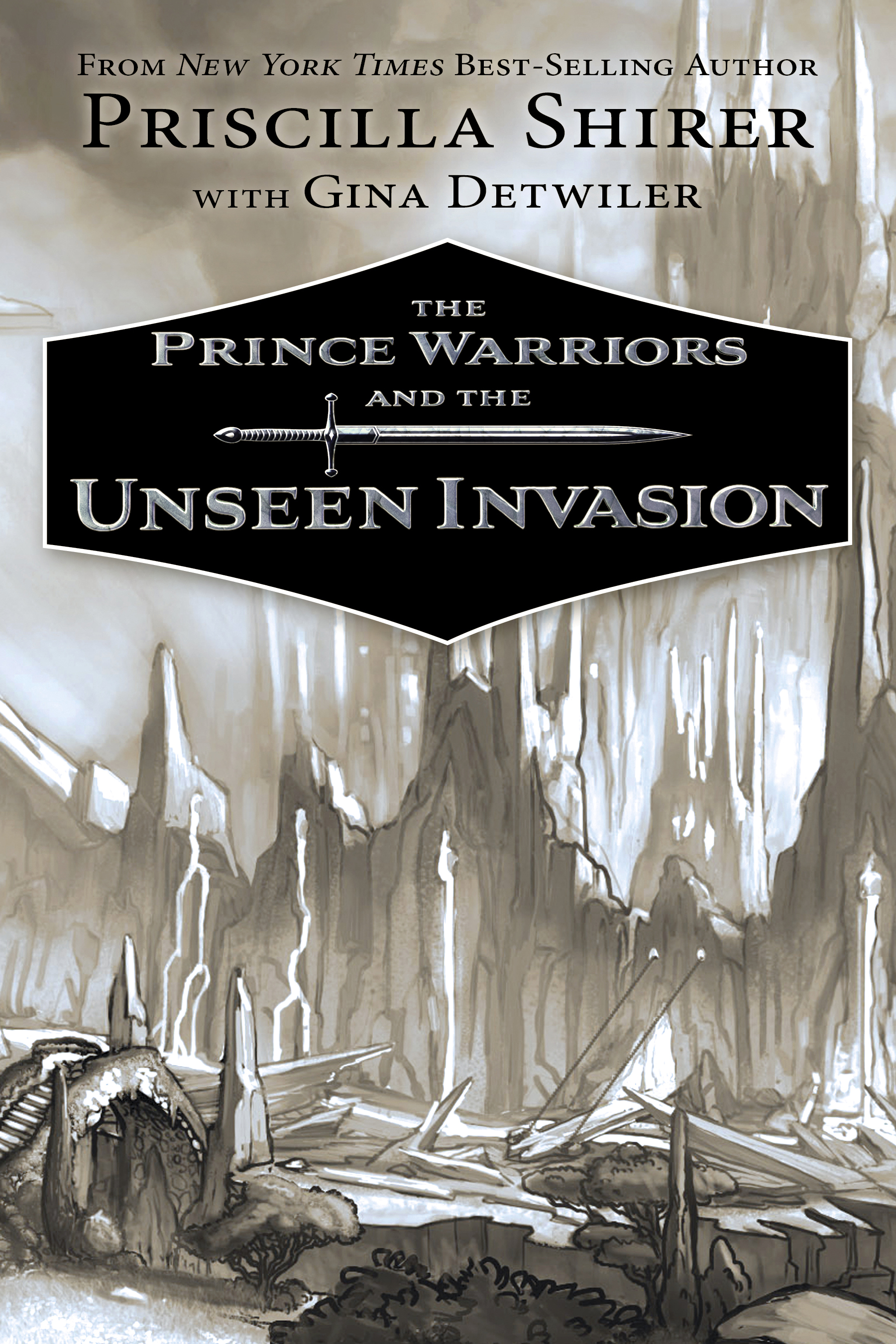 The Prince Warriors and the Unseen Invasion (The Prince Warriors, #2)
