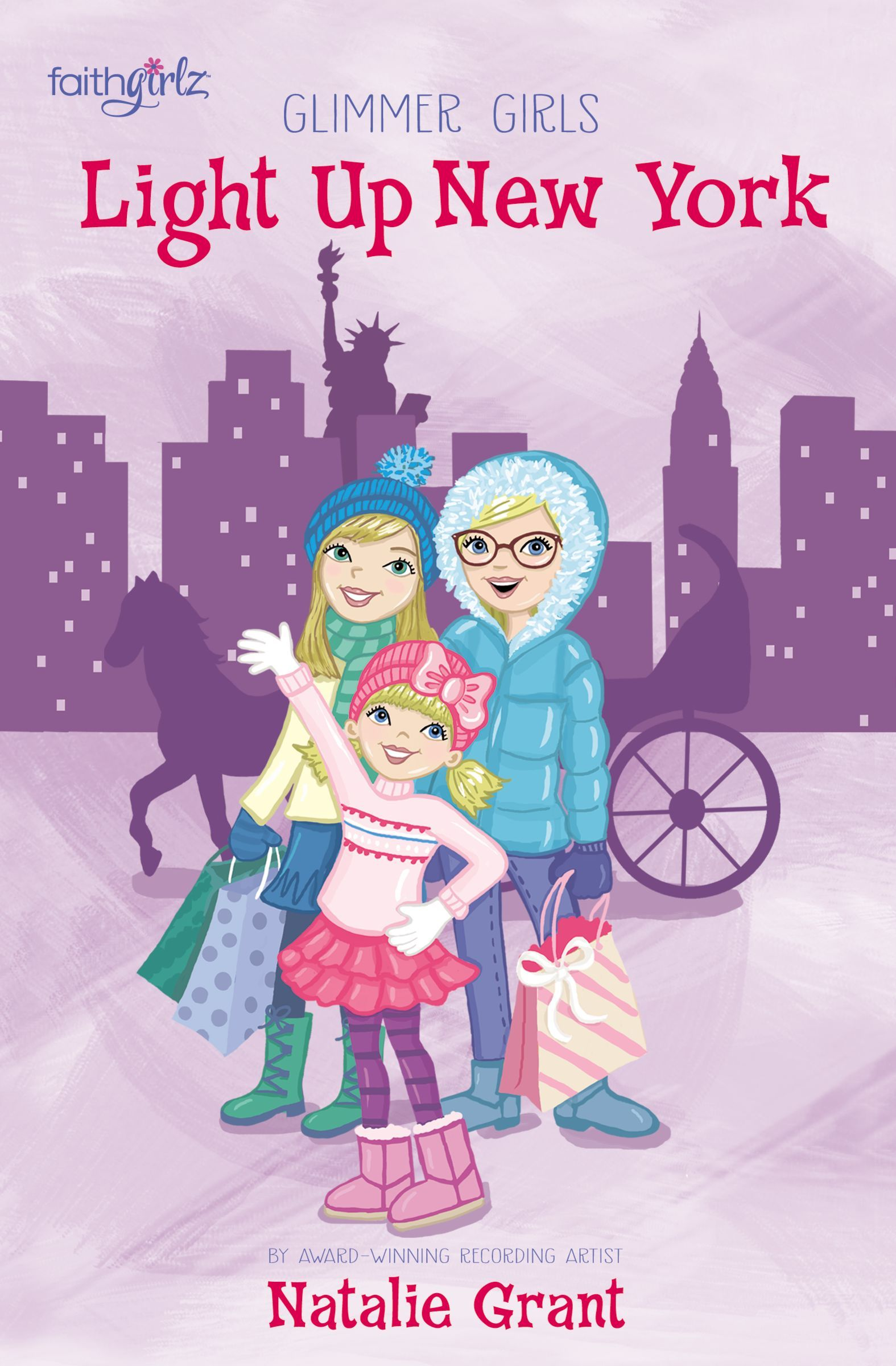 Light Up New York (Glimmer Girls #4)