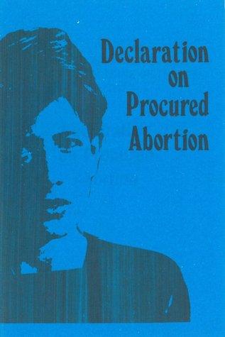 Declaration on Procured Abortion