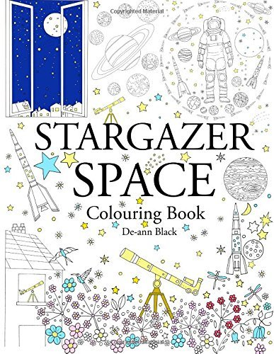 Stargazer Space: Colouring Book