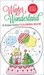 Winter Wonderland A Purse-Sized Coloring Book by Elizabeth James