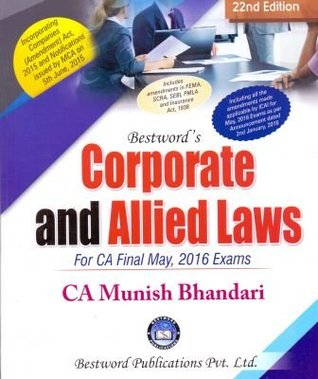 Corporate and Allied Laws by Munish Bhandari