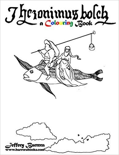 Hieronymus Bosch A Colouring Book