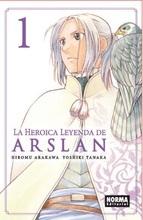 La heroica leyenda de arslan 1 by Yoshiki Tanaka