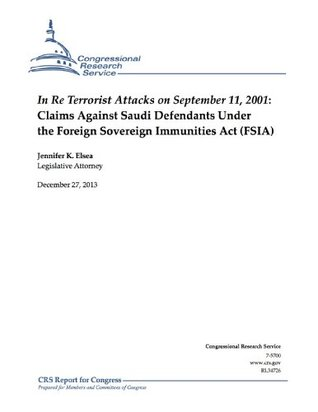 In Re Terrorist Attacks on September 11, 2001: Claims Against Saudi Defendants Under the Foreign Sovereign Immunities Act