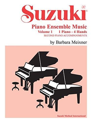 Suzuki Piano Ensemble Music, Volume 1 for Piano Duo: Second Piano Accompaniments (Suzuki Piano School)