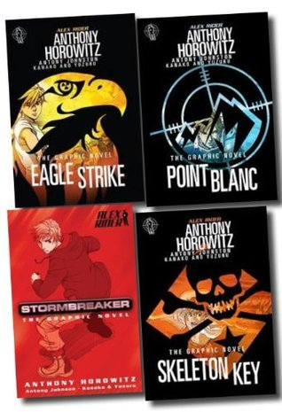 Alex Rider: The Graphic Novels Boxed Set, #1-4 (Alex Rider: The Graphic Novels, #1-4)