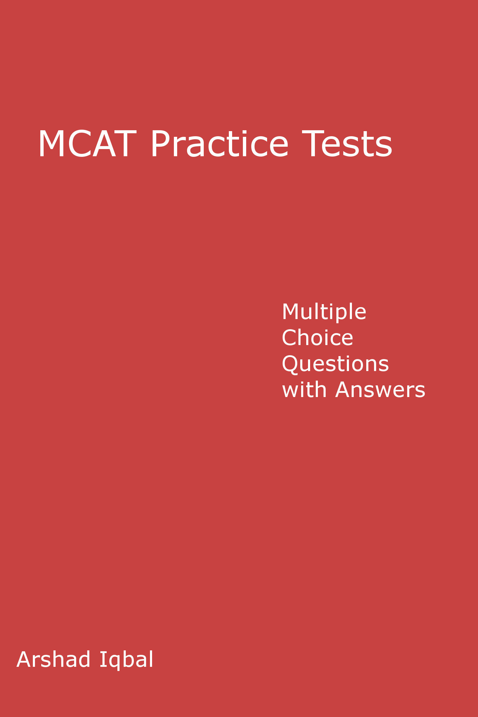 MCAT Practice Tests: Multiple Choice Questions (MCQs) Quiz & Tests