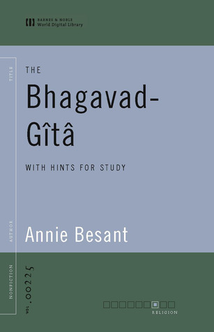 The Bhagavad-Gita with Hints for Study