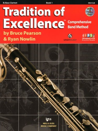W61CLB - Tradition of Excellence Book 1 - Bb Bass Clarinet