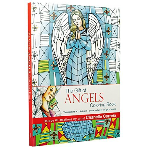 The Gift of Angels Adult Coloring Book