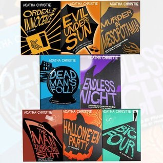 Agatha Christie Comic Strip Graphic Novel 8 Books Bundle Collection (Ordeal by Innocence, Dead Mans Folly,The Man in the Brown Suit,Halloween Party,The Big Four,Endless Nightetc,...)