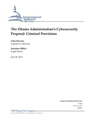 The Obama Administration's Cybersecurity Proposal: Criminal Provisions